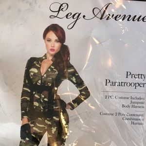Leg Avenue Pretty Parachute Trooper Halloween